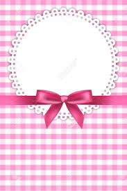 baby ribbon baby pink background with napkin and ribbon royalty free cliparts