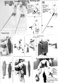 hg catsith english manual u0026 color guide mech9 com anime and