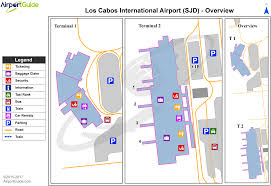 san jose airport on map san josé cabo los cabos international sjd airport terminal