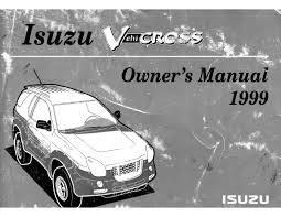 1999 vehicross owners manual documents