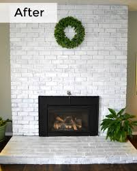 fireplace whitewash and white trim 1905 farmhouse1905 farmhouse