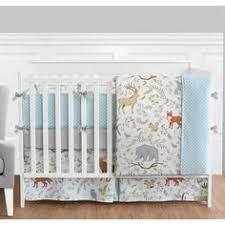 Organic Crib Bedding by Well Nested Organic Crib Bedding Blue Baby Bedding Crib