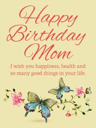 message clipart happy birthday mom pencil and in color message