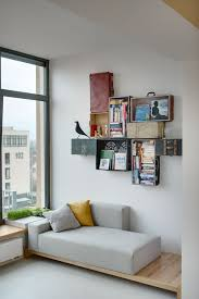 Bookshelves That Hang On The Wall by Wall Mounted Box Shelves U2013 A Trendy Variation On Open Shelves