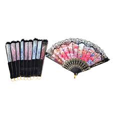 lace fans folding fan wedding party decor supplies