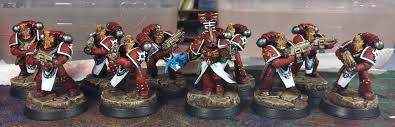 mordian 7th regiment heresy era thousand sons batch painting