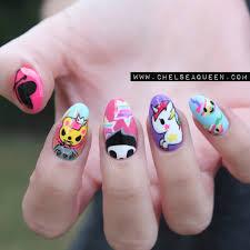 tokidoki nails www chelseaqueen com chelseaqueen com