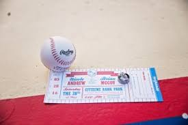 baseball wedding sayings a mock phillies ticket for a wedding invite idea for a