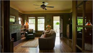 craftsman house inside country homes