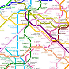 Guangzhou Metro Map by Art Code Data