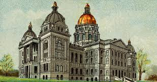 Iowa State Capitol by Clipart Cigarette Card Capitol Building Of Iowa