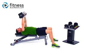 Chest Workout With Dumbbells At Home Without Bench At Home Upper Body Workout Comprehensive Superset Upper Body