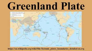 Greenland On World Map by Greenland Plate Youtube