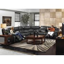 Leather Reclining Sofa Loveseat by Power Reclining Sectional Black 7 Pc Sofa Wedge Loveseat