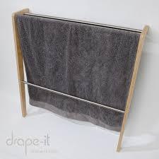 Drape Towel Lean Two Towel Rail Drape It Clothing Rack System