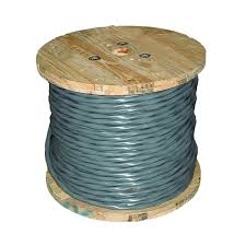 Electric Cable Southwire 125 Ft 6 3 Stranded Cu Uf B W G Cable 14782702 The