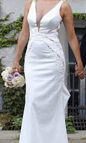 pnina tornai 4442 3 000 size 8 used wedding dresses