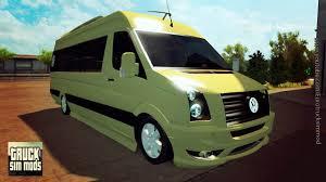 volkswagen tdi truck volkswagen crafter tdi 2 5 euro truck simulator 2 youtube