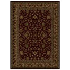 Shaw Living Medallion Area Rug Shaw Living Palace Kashan Rectangular Transitional Area Rug