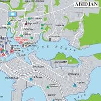 map of abidjan map of abidjan