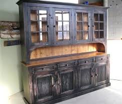 Black Dining Hutch Kitchen Cool Black Kitchen Hutch Narrow Antique Dining Room