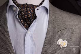 how to wear ascots u0026 cravats the elegant way u2014 gentleman u0027s gazette