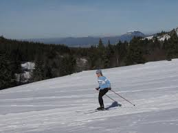 cross country skiing in the auvergne les camélias