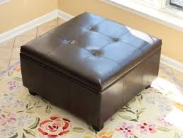 21 brown ottomans under 100 square rectangle u0026 round styles