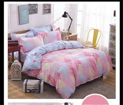 girls pink bedding online get cheap feather comforter cover aliexpress com alibaba