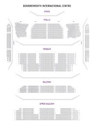 the windsor hall bournemouth international centre theatre people seat plan