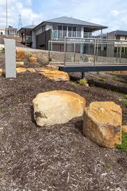 Bush Rock Garden Edging by Rocks And Boulders Andrew Nicholson Landscapes