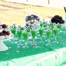 soccer party ideas party food around my family table