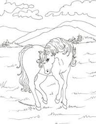 coloriages bella sara chevaux coloring 3 horse