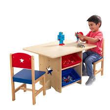 kidkraft desk and chair set kidkraft star table chair set walmart com
