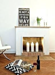 decorative fireplace ideas fireplace candle insert dynamicpeople club