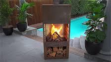 Fiammetta Powder Coated Table Top Gas Outdoor Heater Bunnings Fiammetta 126 X 46 X 46cm Charcoal Outdoor Patio Heater Bunnings