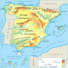 Almeria Spain Map by Busybees Social Science