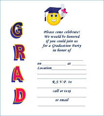 8th grade graduation invitations preschool graduation invitation free domaindir info