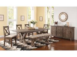 dining room table with butterfly leaf new classic tuscany park trestle table with self storing butterfly