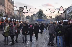 kosice winter markets editorial stock photo image of jarmok 20112373