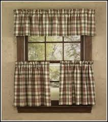 Navy Blue Plaid Curtains Lovable Blue Plaid Kitchen Curtains Decorating With Navy Blue