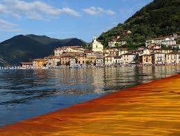 Floating Piers by File Christo U0027s The Floating Piers 5 Jpg Wikimedia Commons