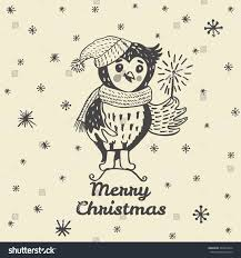 owl christmas owl christmas pencil and in color owl christmas
