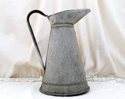 Metal Jug Vase Over 600 Antique And Vintage Items From By Vintagedecorfrancais