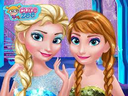 frozen princess games frozen prom make up design princesses elsa anna you