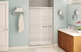 sliding shower screen for alcoves aura maax bathroom videos