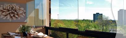 our toronto retractable glass balcony windows are easy to use lumon