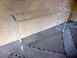 Small Sofa Table by Styles Inspiring Unique Table Material Ideas With Cute Lucite