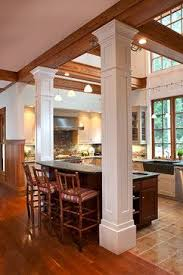 pillar designs for home interiors creative pillar design in home kitchen islands with pillars