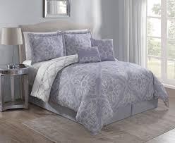 Lavender Comforter Sets Queen 6 Piece Raquel Lavender Comforter Set